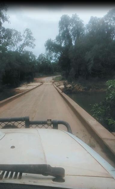 wenlock river crossing may 2021