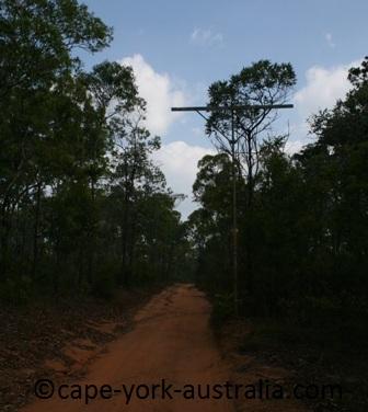 telegraph line track