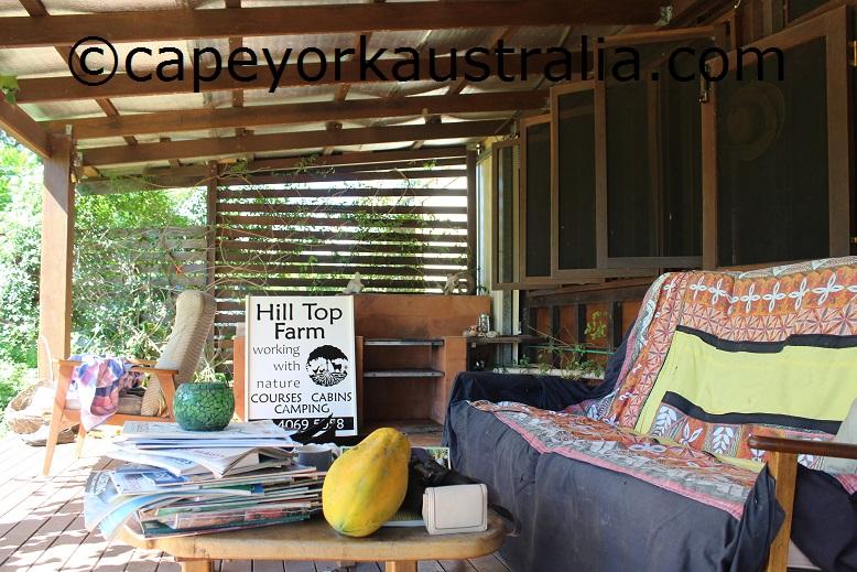 hilltop farmstay eco friendly