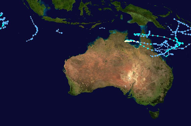 2018 2019 australian cyclones
