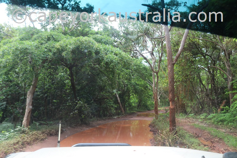 2020 wet season road to the tip