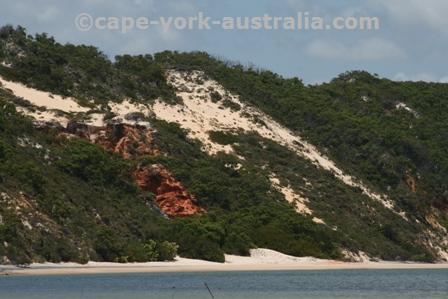 coloured sands