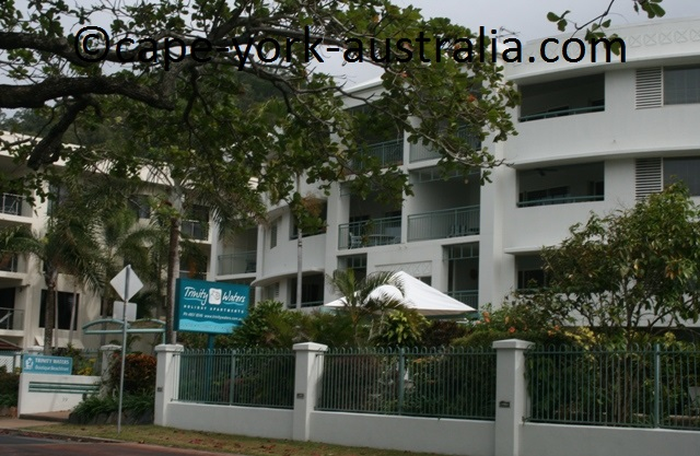 trinity waters holiday apartments