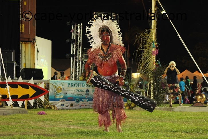badu island dancers