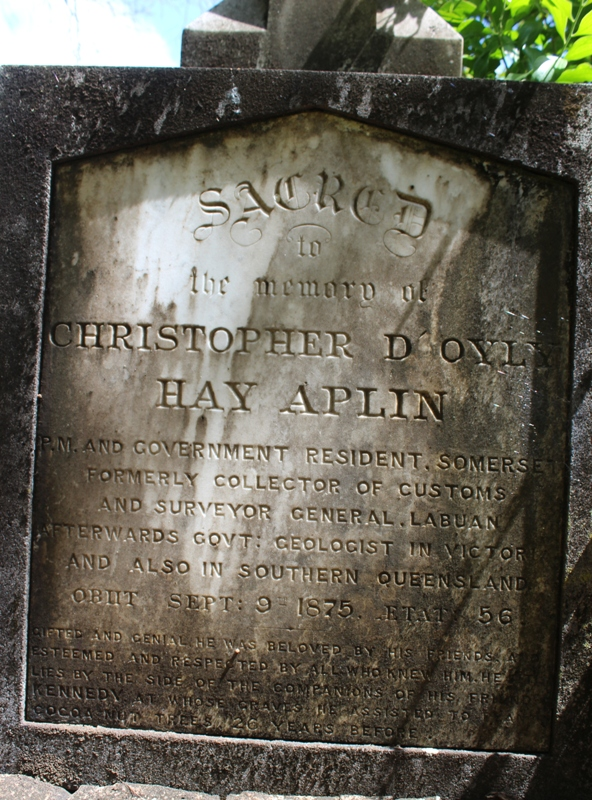 christopher hay doyley aplin