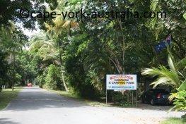 wonga beach caravan park