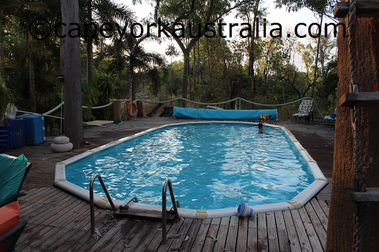 weipa anchorage swimming pool