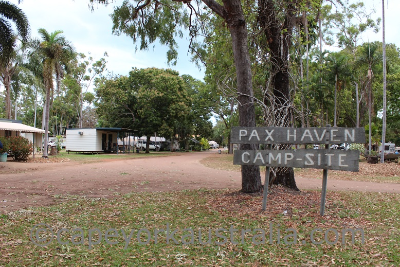 weipa camp site