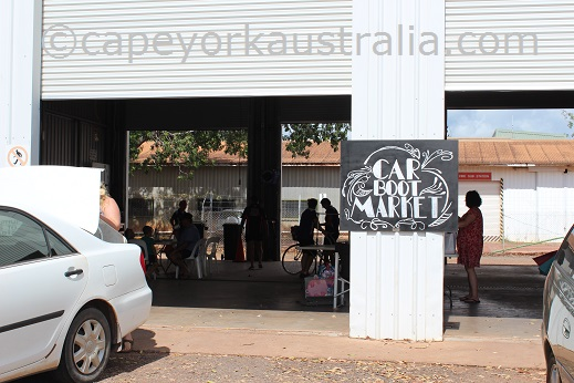weipa carboot market