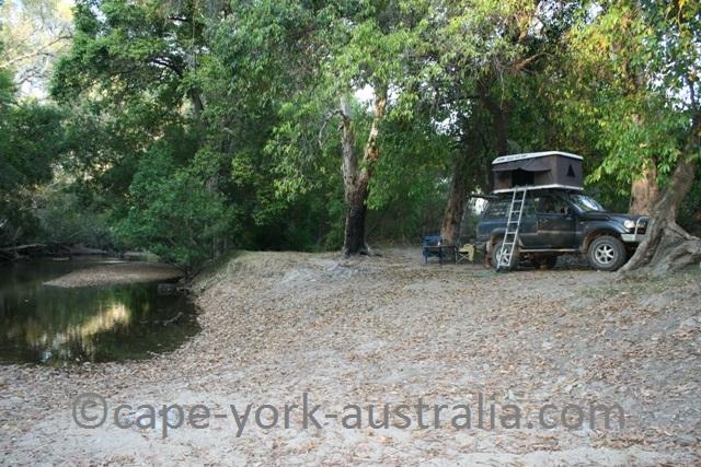 free camping cape york