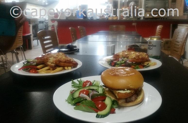 bamaga tavern burger