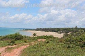 five beaches first beach track down
