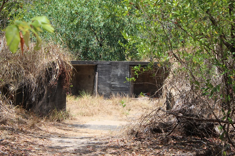 horn island second world war bunker