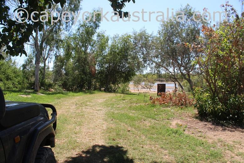 pormpuraaw to kowanyama mitchell river bank