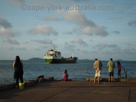 seisia wharf sea swift