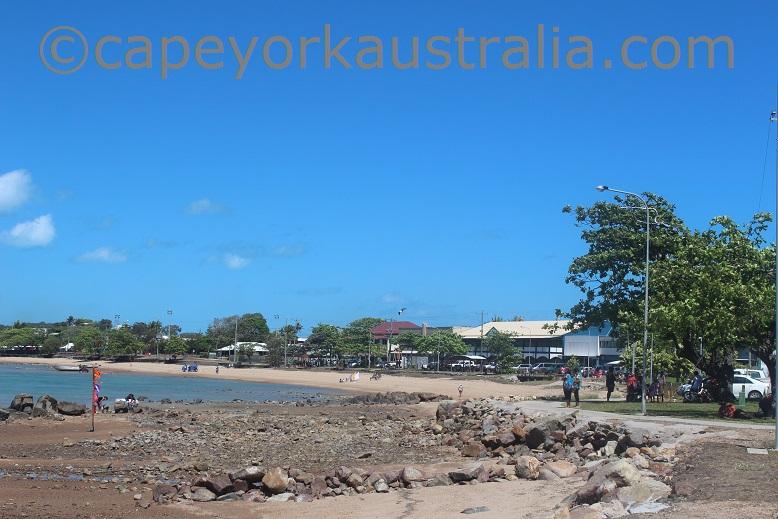 thursday island beach front