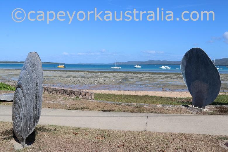 thursday island beachfront path