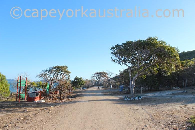 thursday island sadies beach