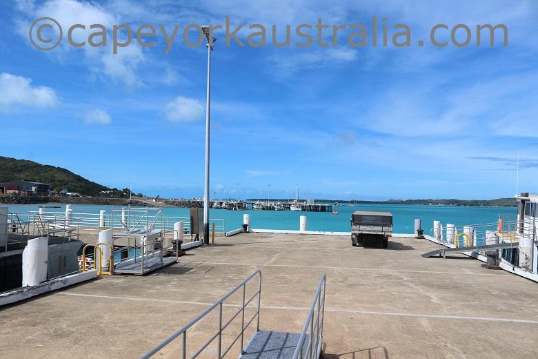 thursday island wharf