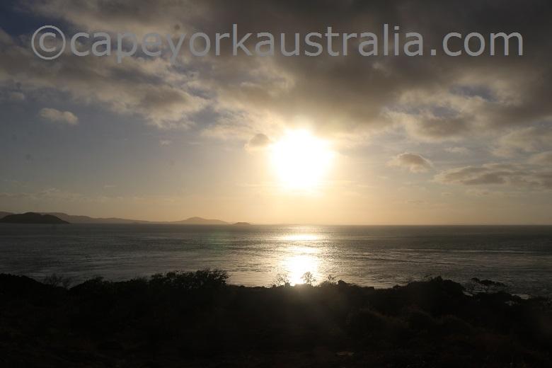 tip of australia bottom walk sunset