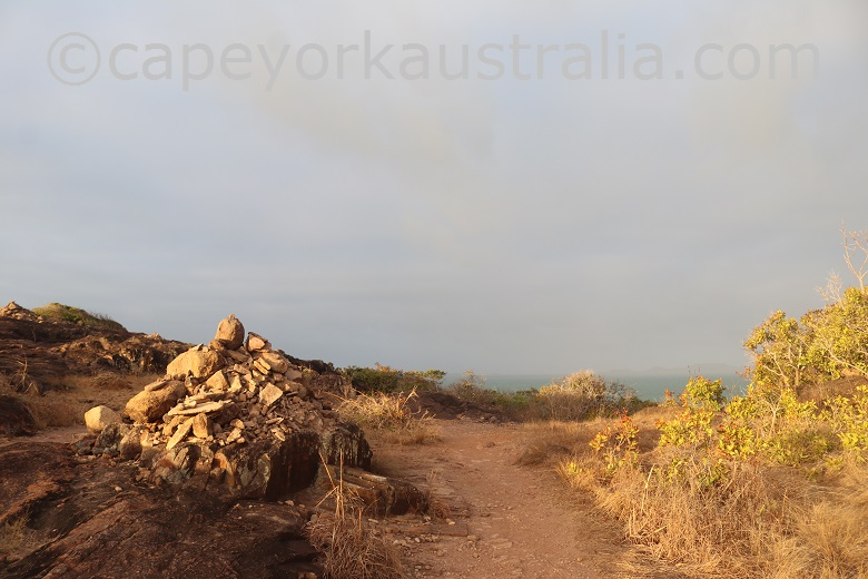 tip of australia top walk cairn