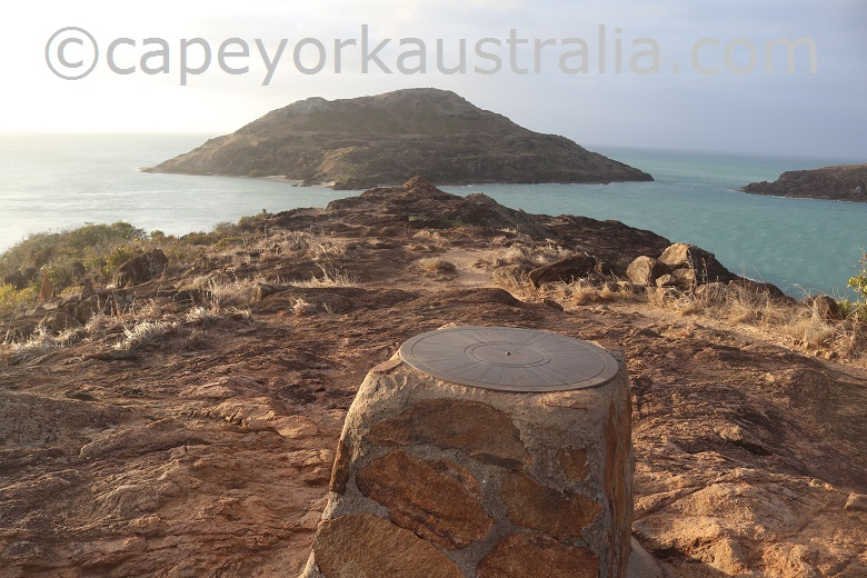 tip of australia top walk distance marker