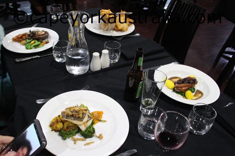 cape york peninsula lodge meals
