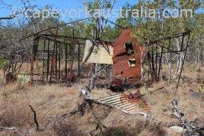 roma flats track tin hut