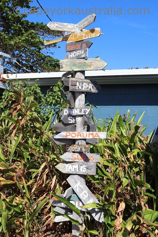 thursday island marker