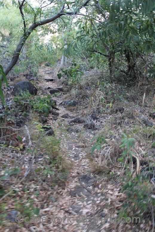 finch bay walk hilly