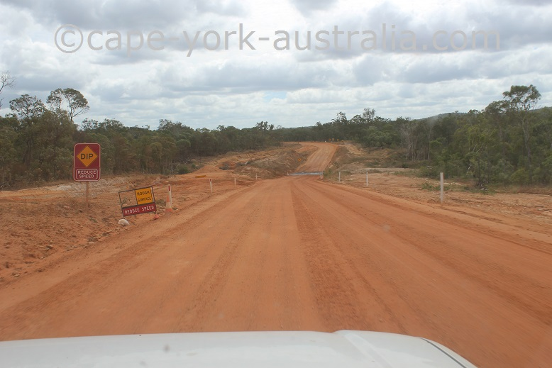 archer river to bamaga turnoff