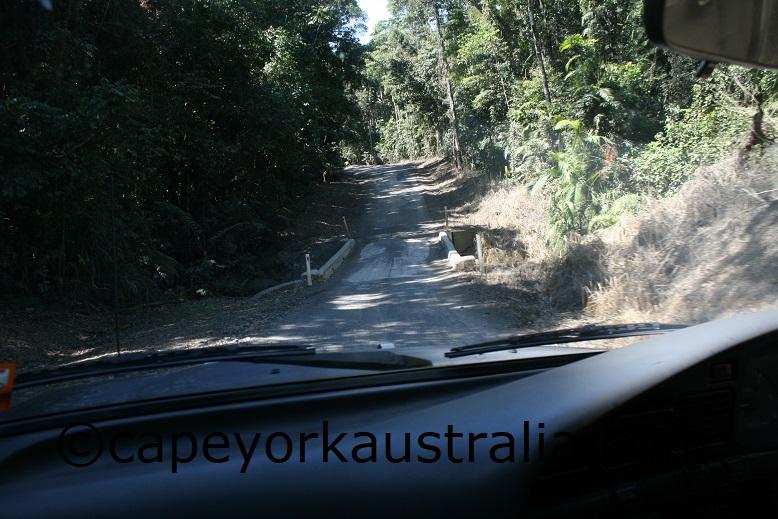 black mountain road bridge