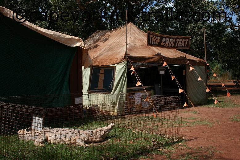 lockerbie croc tent