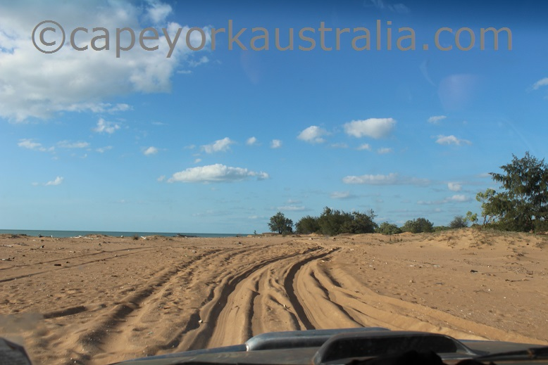skardon river beach drive