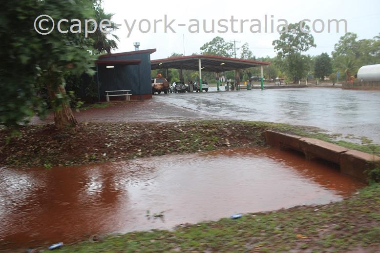 bamaga rains january 2018