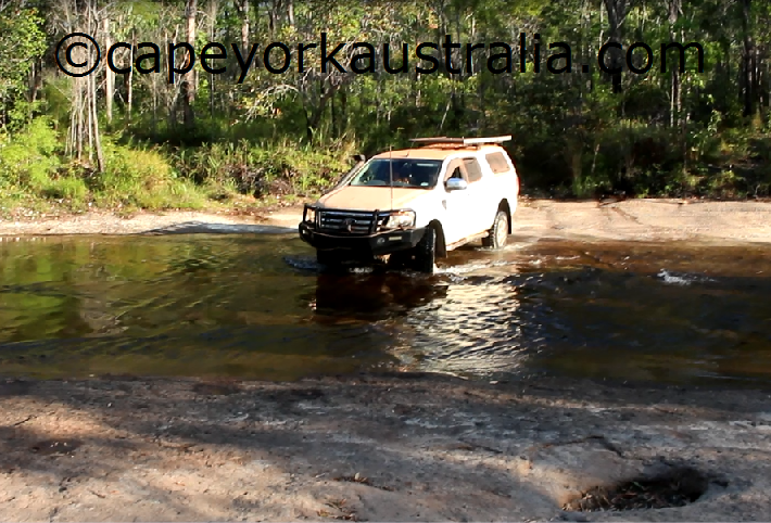bertie creek crossing