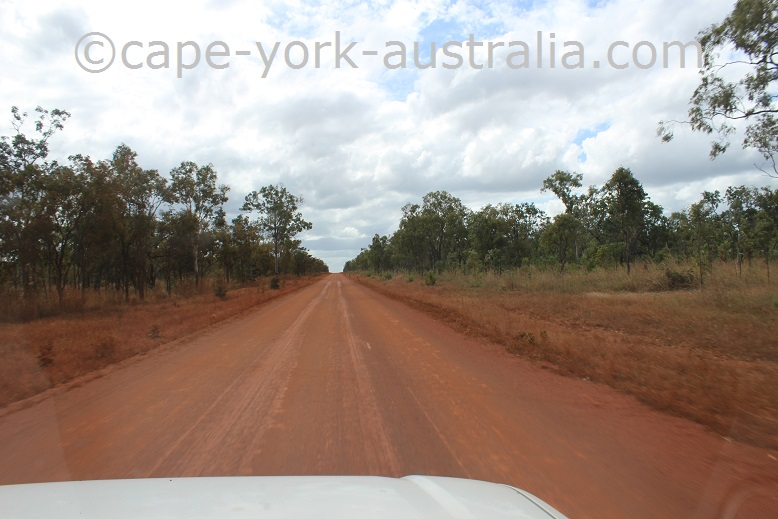 bamaga turnoff to bramwell