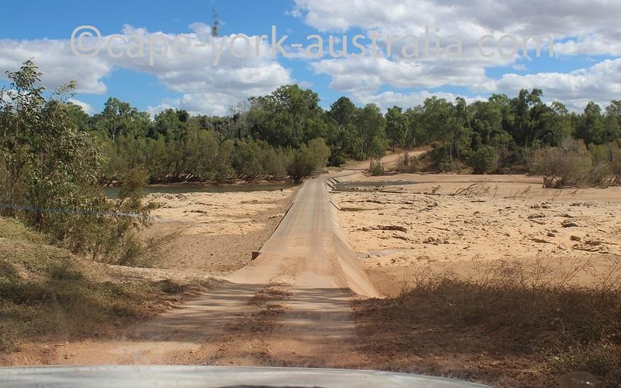 burke developmental road lynd river crossing
