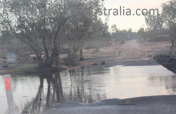 burke developmental road staaten river crossing