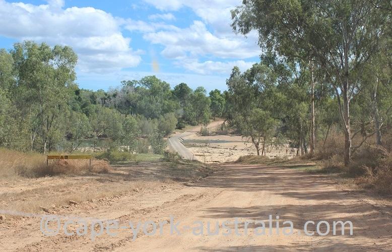 burke developmental road wrotham to dunbar lynd river crossing