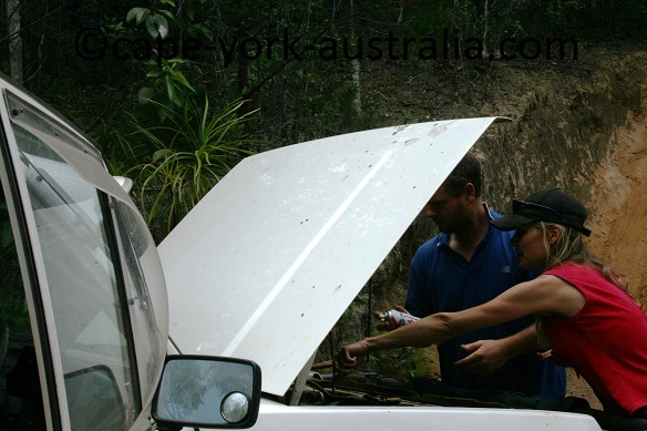 vehicle preparation