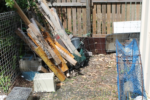 debris clean up