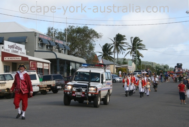 cooktown festival parade