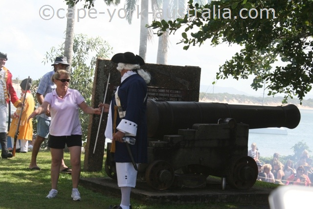 cooktown festival cannon firing