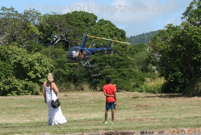 cooktown festival helicopter flights