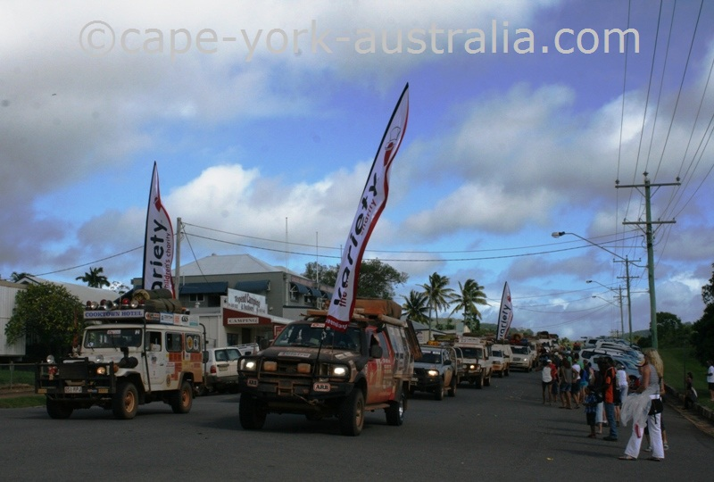 cooktown festival parade 4wds