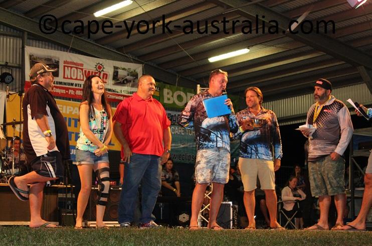 weipa fishing classic third prize