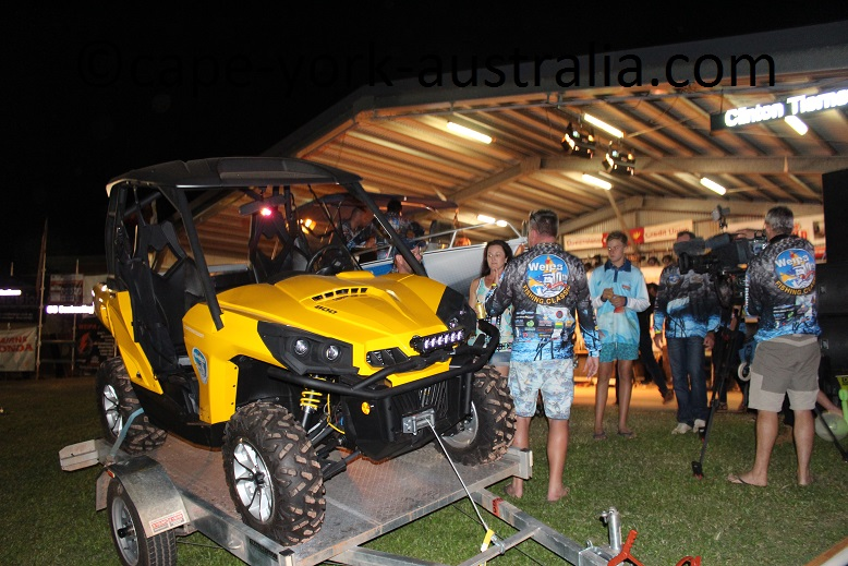 weipa fishing classic second prize