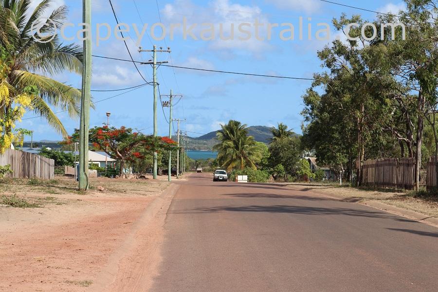 badu island streets
