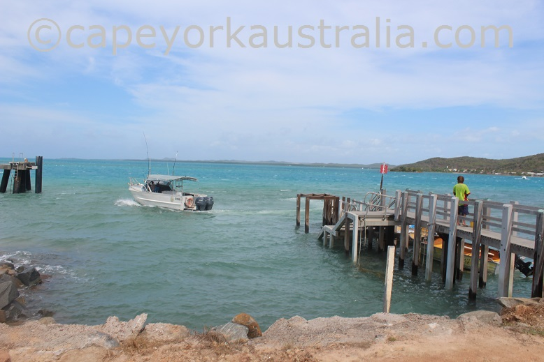 hammond island jetty